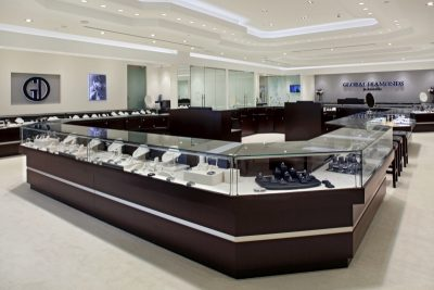 Global Diamond store interior.