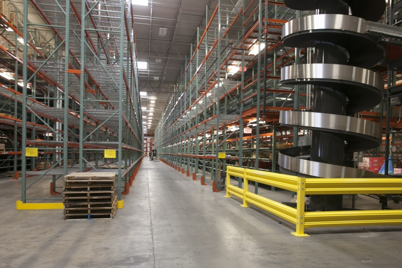 Warehouse storage installed in AAFES Waco.