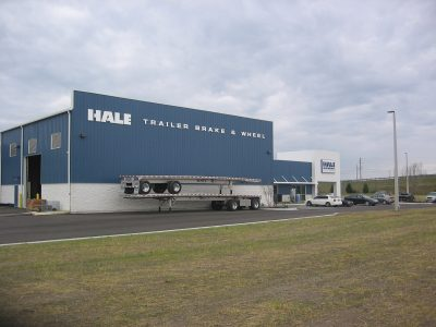 Hale Trailer Brake & Wheel building exterior.