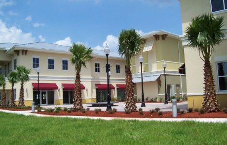 Building exterior of the Palm Coast Town Center.